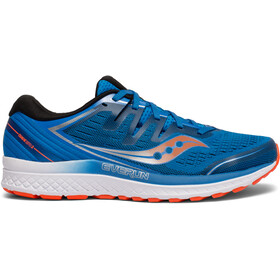 saucony Guide ISO 2 Hardloopschoenen Heren, blue/orange